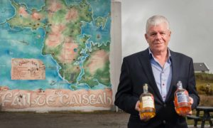 John McKay, CEO of The IrishAmerican Trading Co, pictured on Achill Island where he now plans to distill his brand of whiskey.  Photo by Michael McLaughlin