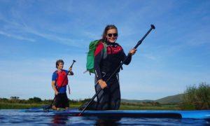 Kayaking in Lough Currane