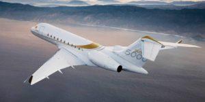 Pictiúr don bombardier aerospace global 5000 ag eitilt