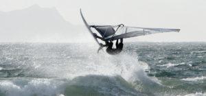 Windsurfing at Coláiste Uisce
